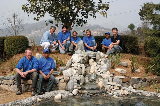 Gartenglück im Einsatz in Nepal