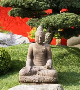 Garten die Oase Buddhafigur