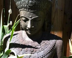Khmer Buddha Statuen