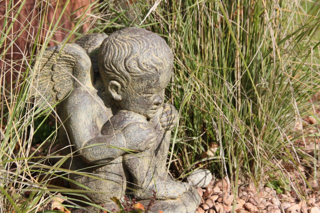 Engel im Garten – Nicht nur im Herbst