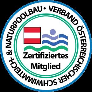Gartenglück ist zertifiziertes Mitglied beim Verband österreichischer Schwimmteich- & Naturpoolbau
